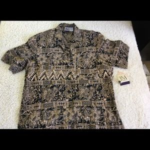 NWT JM collections rayon blouse size 14